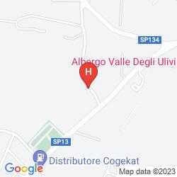 Mapa VALLE DEGLI ULIVI