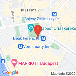 Mapa THE RITZ-CARLTON, BUDAPEST