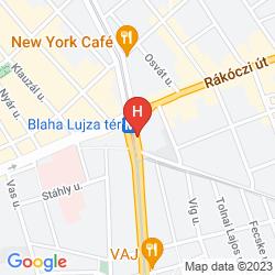 Mapa NEMZETI BUDAPEST - MGALLERY COLLECTION