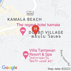 Mapa NAMAKA RESORT KAMALA