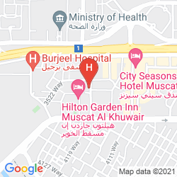 Mapa LA ROSA HOTEL OMAN