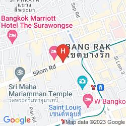 Mapa TRIPLE TWO SILOM