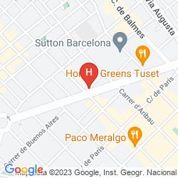 Mapa WILSON BOUTIQUE HOTEL