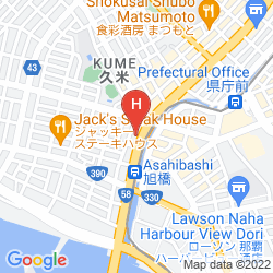 Mapa HOTEL YUQUESTA ASAHIBASHI