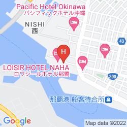 Mapa LOISIR SPA TOWER NAHA