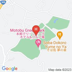 Mapa MOTOBU GREEN PARK HOTEL