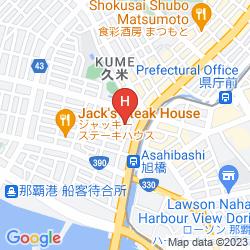 Mapa RYUKYU SUN ROYAL HOTEL