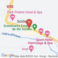 Mapa PIOLETS SOLDEU CENTRE