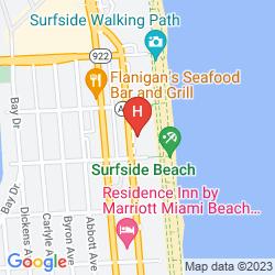 Mapa GRAND BEACH HOTEL SURFSIDE