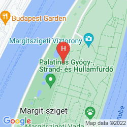 Mapa DANUBIUS HEALTH SPA RESORT MARGITSZIGET