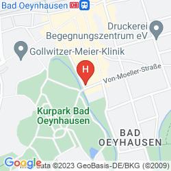 Mapa HOTEL WITTEKIND