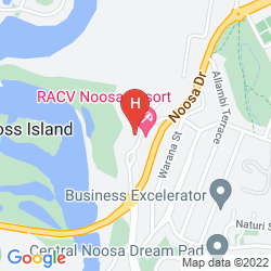 Mapa RACV NOOSA RESORT