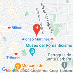 Mapa SAFESTAY MADRID