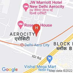 Mapa HOLIDAY INN NEW DELHI INTERNATIONAL AIRPORT