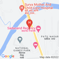Mapa HOLIDAY INN HINJEWADI