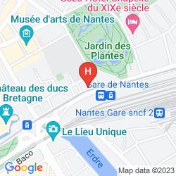 Mapa CONTACT HOTEL TERMINUS