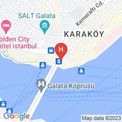 Mapa THE HAZE KARAKOY