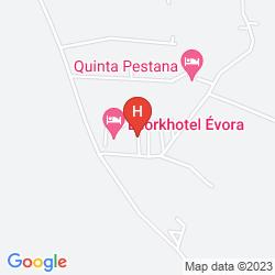 Mapa TIVOLI ÉVORA ECORESORT