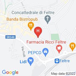 Mapa HOTEL DORIGUZZI