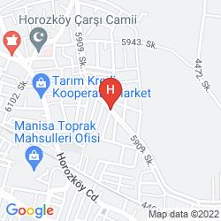 Mapa HOLIDAY INN EXPRESS WEST