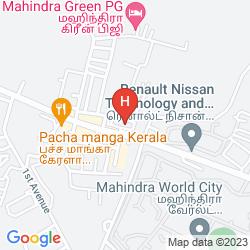 Mapa HOLIDAY INN EXPRESS MAHINDRA WORLD CITY