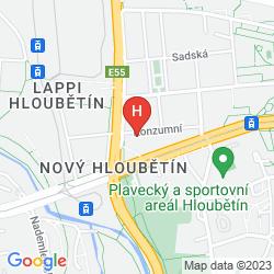 Mapa HOTEL 51