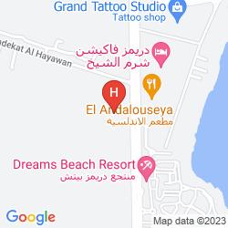 Mapa DREAMS BEACH