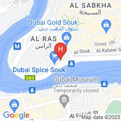 Mapa AL SHAMAL