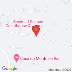 Mapa MONTE DA LUA GUEST HOUSE