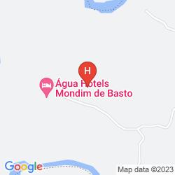 Mapa AGUA HOTELS MONDIM DE BASTO