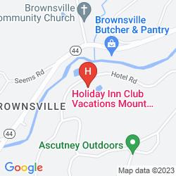 Mapa HOLIDAY INN CLUB VACATIONS AT ASCUTNEY MOUNTAIN RESORT
