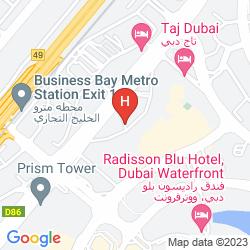 Mapa SOFITEL DUBAI DOWNTOWN