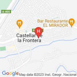 Mapa CASTILLO DE CASTELLAR