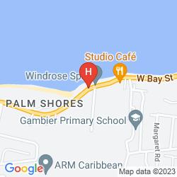 Mapa COMPASS POINT BEACH RESORT