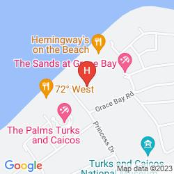 Mapa GRACE BAY SUITES