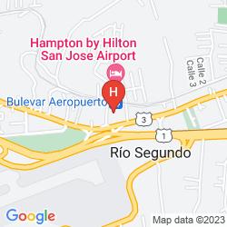 Mapa HOLIDAY INN EXPRESS AIRPORT
