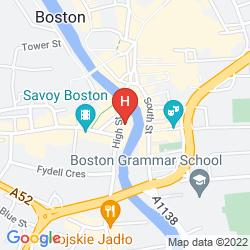 Mapa BEST WESTERN WHITE HART HOTEL