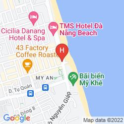 Mapa HOLIDAY BEACH DANANG HOTEL & SPA