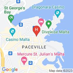 Mapa GOLDEN TULIP VIVALDI