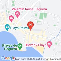 Mapa APARTAMENTOS SERAMAR SUNNA PARK