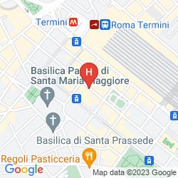 Mapa ALBERGO DI RIENZO