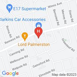 Mapa ALBERT GUEST HOUSE