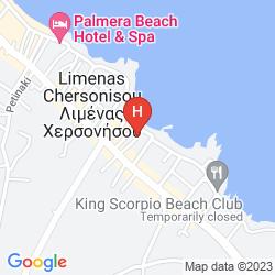 Mapa ARLEN BEACH HOTEL