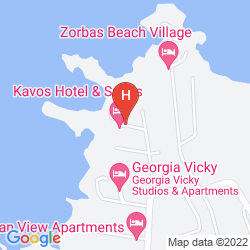 Mapa NANAKIS BEACH APARTMENTS
