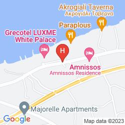 Mapa WHITE PALACE- EL GRECO LUXURY RESORT
