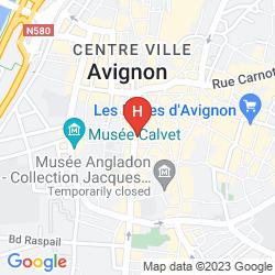 Mapa POP' HOSTEL
