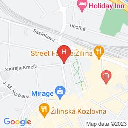 Mapa SLOVAN