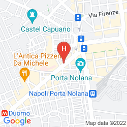 Mapa NAPOLI SUITE