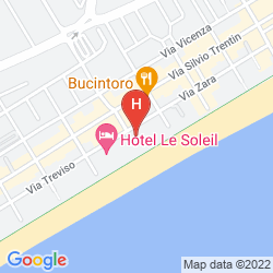 Mapa HOTEL SIRENETTA