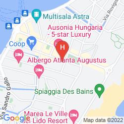 Mapa VILLA PANNONIA
